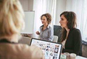 Businesswomen at Work