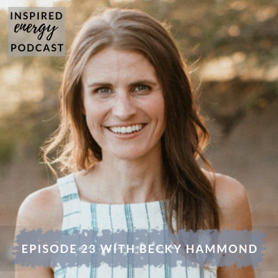 Episode 23 – Becky Hammond